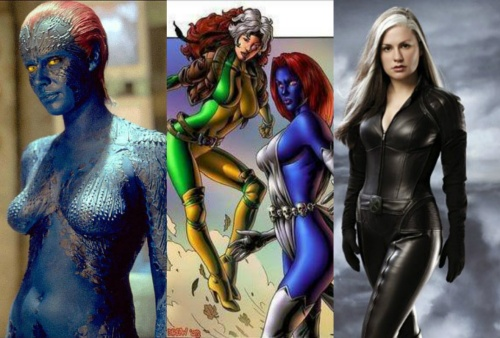 Mystique and Rogue Movie