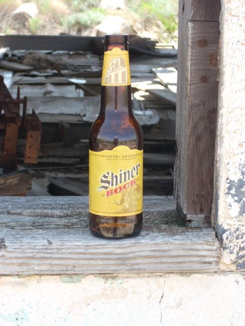 Shiner Bock at Chata Ortega's