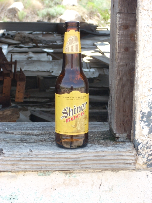 Shiner Bock at Chata Ortega's