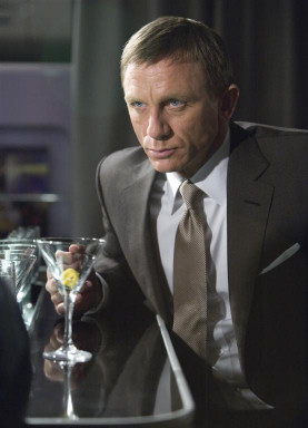 bond with martini