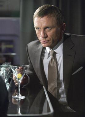 bond with martini