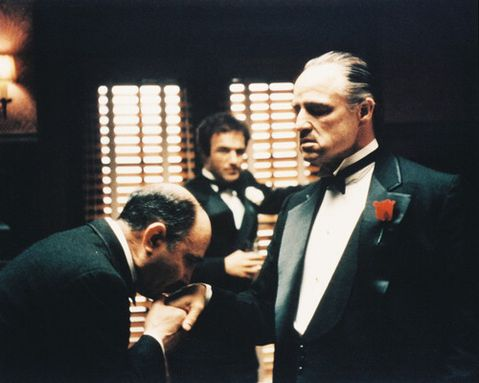 Personajes Predeterminados de Los Polis The-godfather