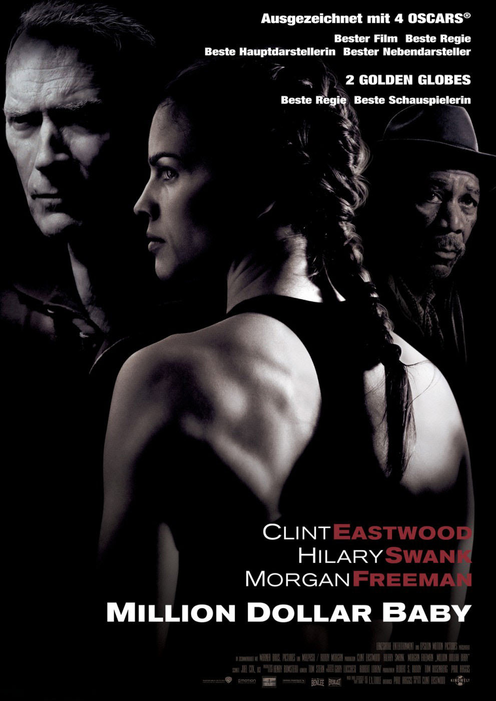 a review of the film million dollar baby by clint eastwood 31 days of oscar: my review of clint eastwood's oscar-winning boxing film starring himself, hilary swank, and morgan freemator best picture winner: 2004.