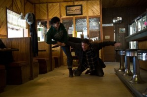 Gina Carano and Channing Tatum Haywire