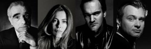 Martin Scorsese Quentin Tarantino Kathryn Bigelow Christopher Nolan