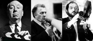 Alfred Hitchcock Federico Fellini Stanley Kubrick