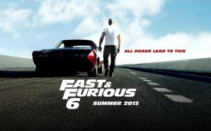 Fast & Furious 6 poster