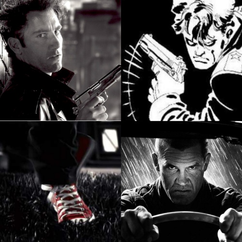 Josh Brolin Clive Owen A Dame to Kill For Dwight McCarthy