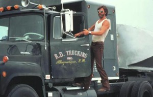 Convoy (USA 1978) Kris Kristofferson/ LKW, Truck, Trucker