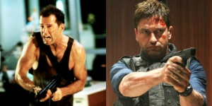 John McClane and Mike Banning
