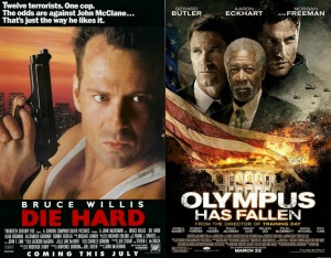 Olympus Has Fallen or Die Hard in The Whitehouse