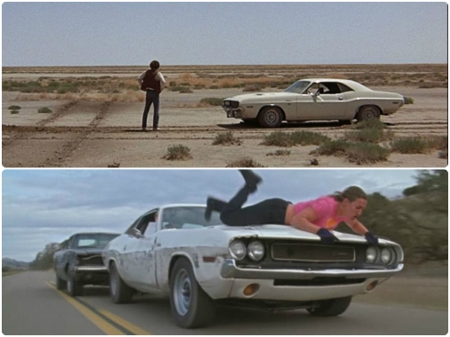 dodge challenger Death Proof and vanishing point