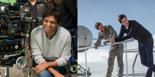 Joseph Kosinski and M Night Shyamalan