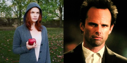 Ruth Wilson and Walton Goggins