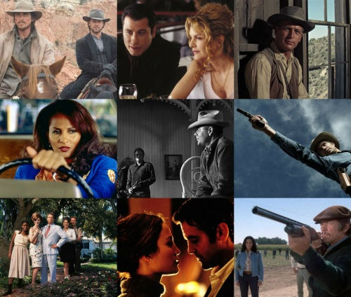 Movies and TV shows based on Elmore Leonard books and scripts