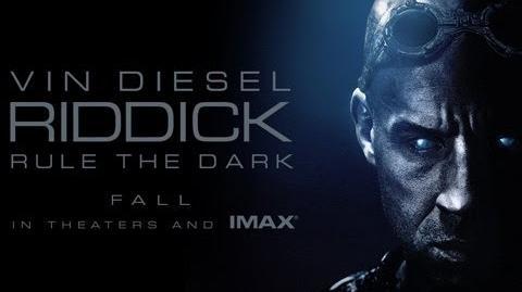 riddick movie poster