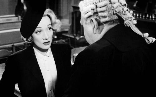 witness for the prosecution marlene dietrich