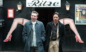 James McAvoy and Eddie Marsan in Filth - Jul 2013