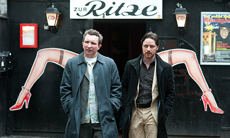 James McAvoy and Eddie Marsan in Filth - Jul 2013