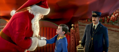 The Polar Express santa