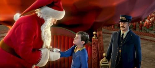 The Polar Express santa