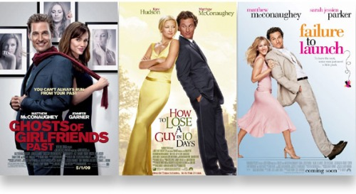Matthew McConaughey leaning posters