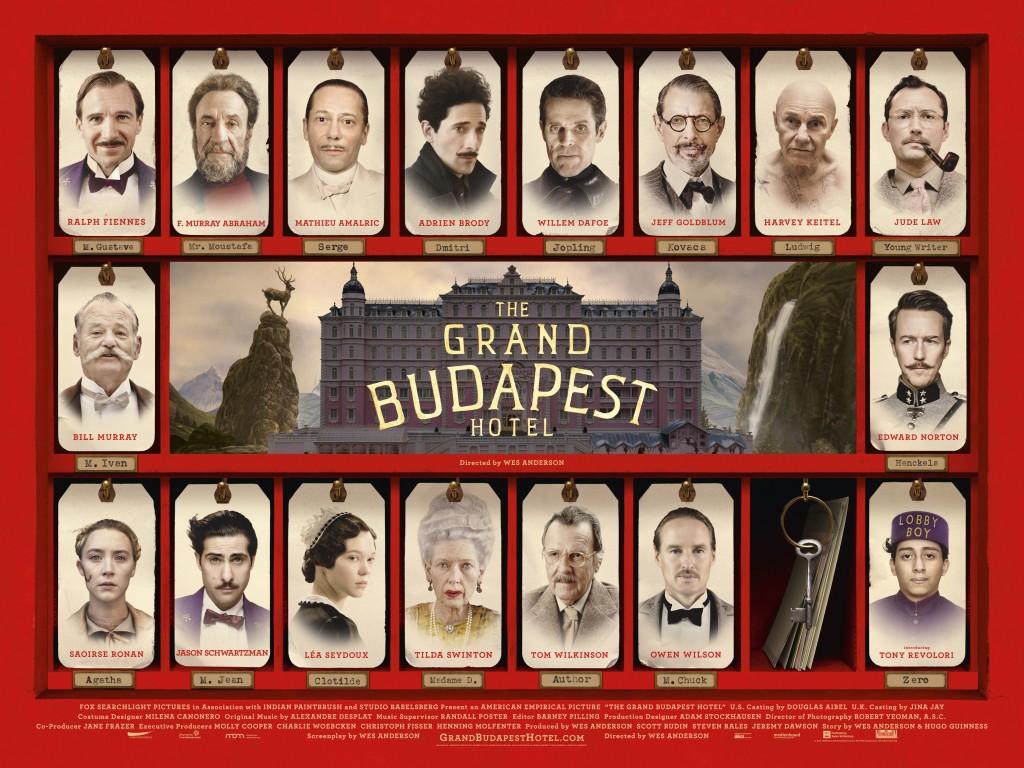 Budapest Hotel Film