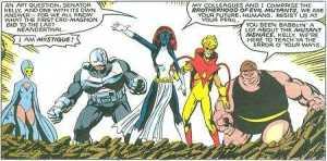 brotherhood of mutants days of future past