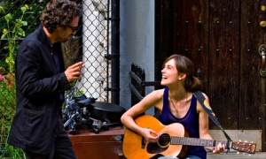 Begin Again with Mark Ruffalo and Keira Knightley
