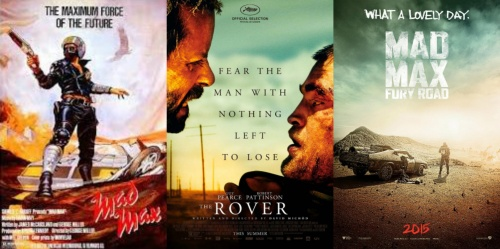 The Rover and Mad Max Posters