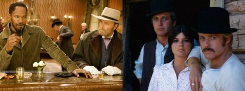 Django Unchained and Butch Cassidy and the Sundance Kid