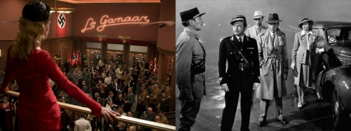 Inglourious Basterds and Casablanca