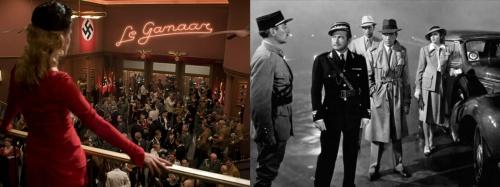 Inglourious Basterds and Casablanca