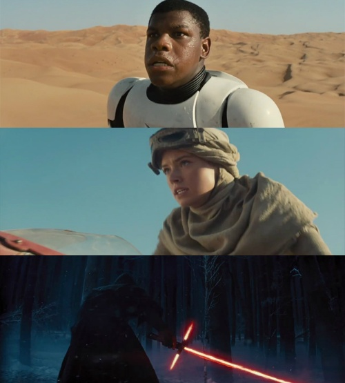 The Star Wars Force Awakens Cast