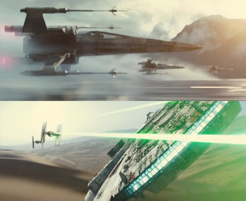 The Star Wars Force Awakens Ships