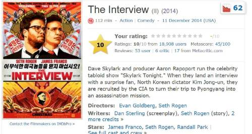 the interview imdb