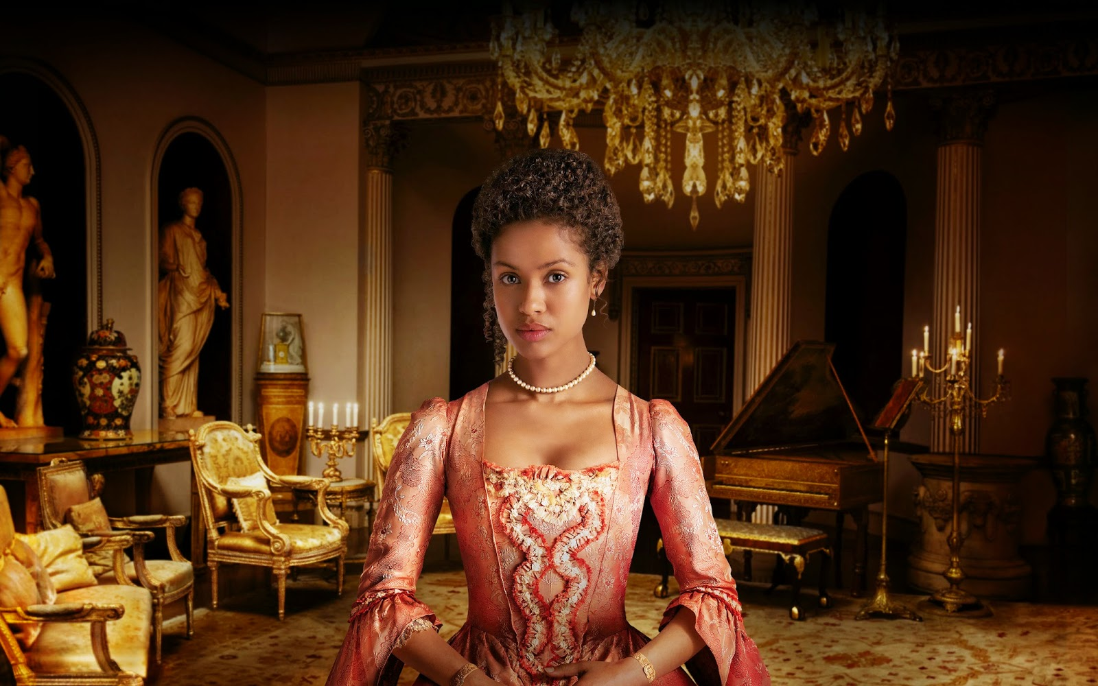 """Image result for Gugu Mbatha-Raw """"Belle"""""""