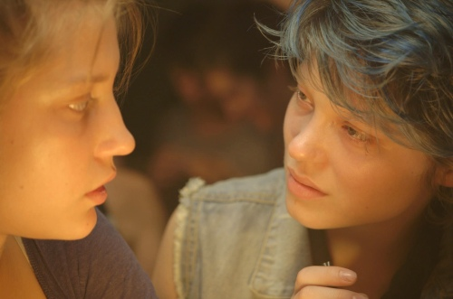 Emma and Adèle Blue Is the Warmest Colour