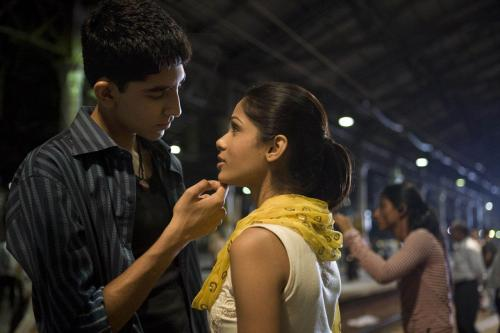 Jamal and Latika Slumdog millionaire