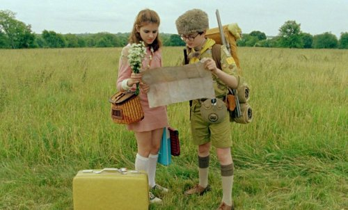 sam and suzy Moonrise Kingdom