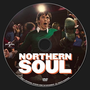 Northern Soul (2014) DVD Label
