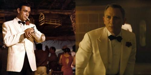 James Bond white dinner jacket