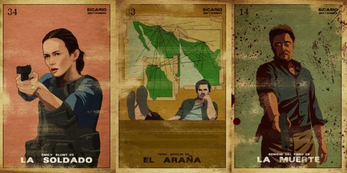 Sicario character Posters