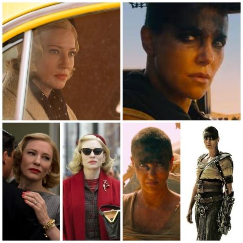 Charlize Theron & Cate Blanchett