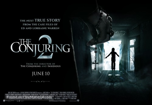 The conjuring 2 poster