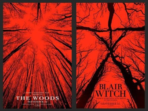 the-woods-and-blair-witch-posters