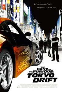 the fast and the furious tokyo drift movie poster