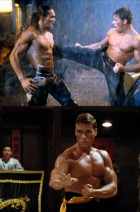 cyborg and kickboxer