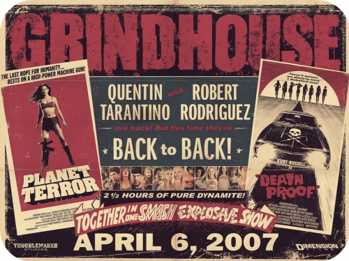 Tonight only Robert Rodriguez and Quentin Tarantino's Grindhouse