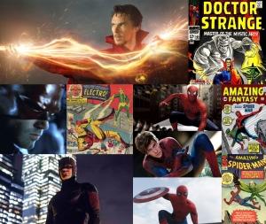 Doctor Strange Daredevil Spider-man